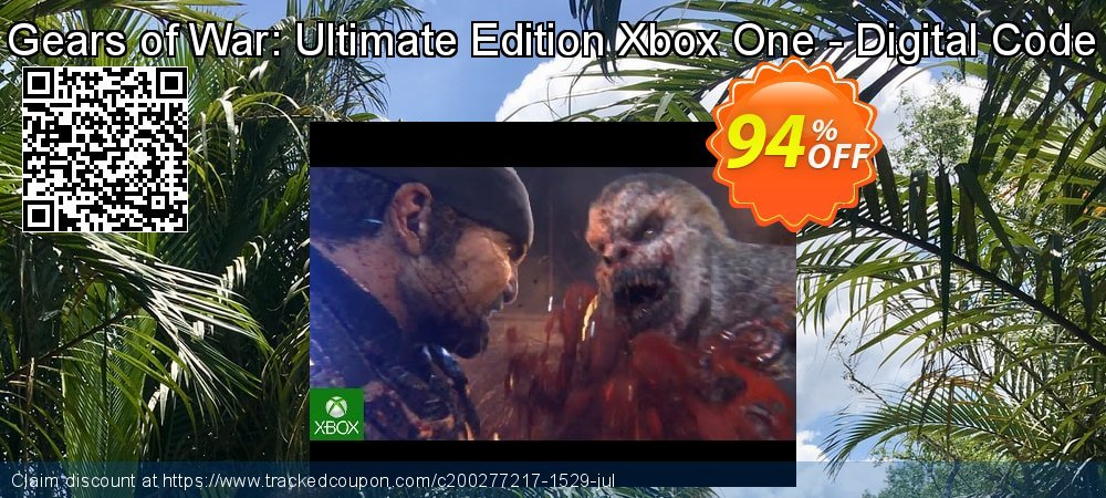 Get 96% OFF Gears of War: Ultimate Edition Xbox One - Digital Code offering sales