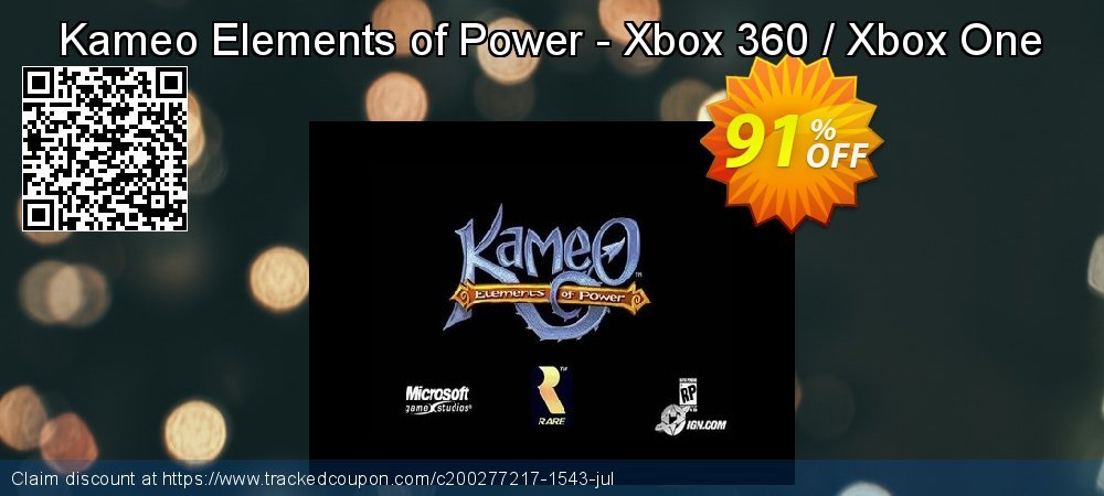 Get 80% OFF Kameo Elements of Power - Xbox 360 / Xbox One offering sales