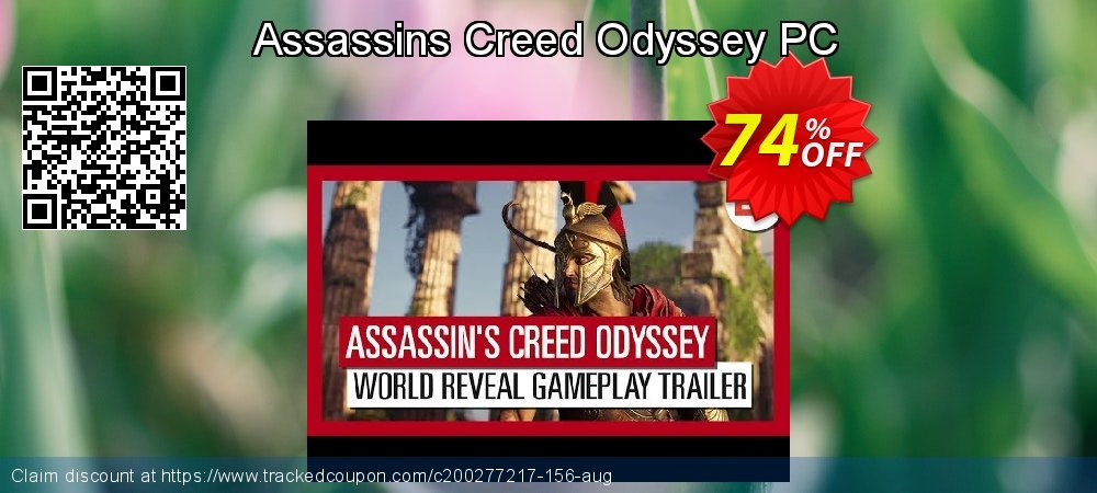 Assassins Creed Odyssey PC coupon on Mom Day discounts