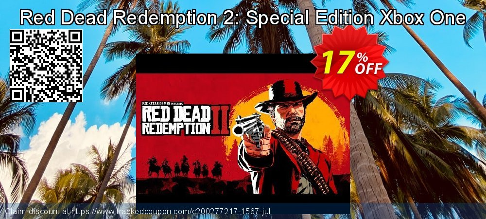 Red Dead Redemption 2: Special Edition Xbox One coupon on Christmas & New Year discount