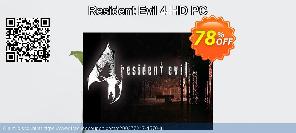 Resident Evil 4 HD PC coupon on Thanksgiving offering sales