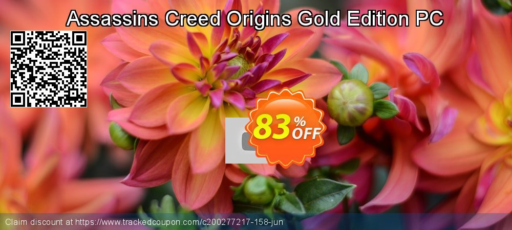 Assassins Creed Origins Gold Edition PC coupon on Mom Day sales
