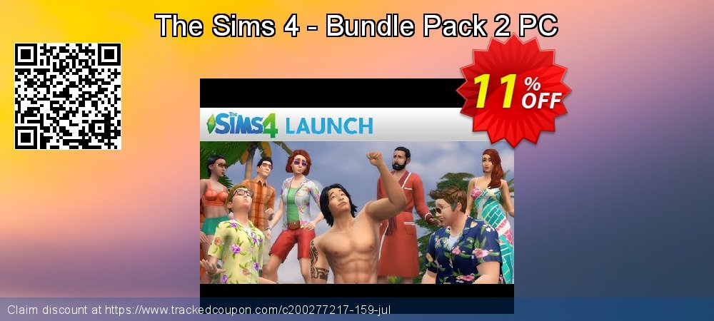 The Sims 4 - Bundle Pack 2 PC coupon on Mothers Day deals