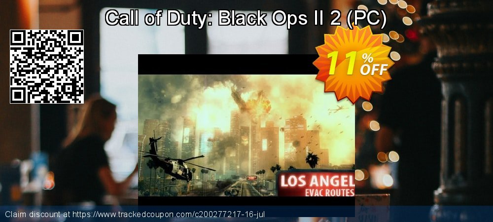 Call of Duty: Black Ops II 2 - PC  coupon on Mom Day offer