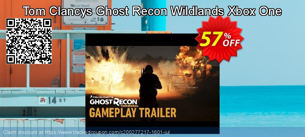Tom Clancys Ghost Recon Wildlands Xbox One coupon on Hug Holiday offering discount