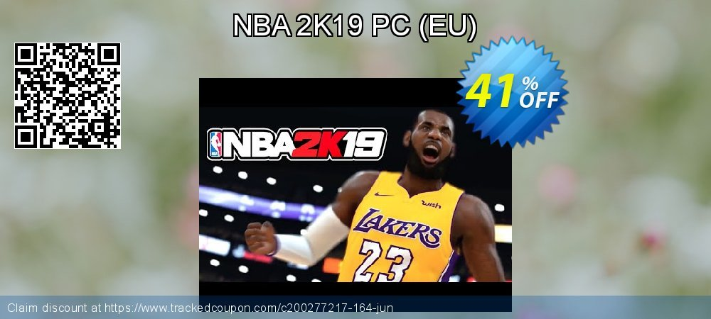 NBA 2K19 PC - EU  coupon on Mom Day super sale