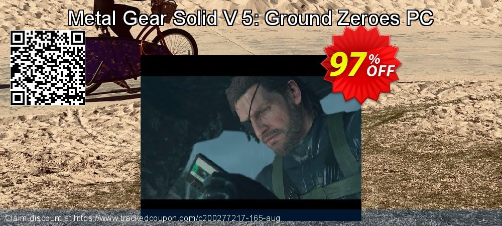 Get 97% OFF Metal Gear Solid V 5: Ground Zeroes PC offering sales