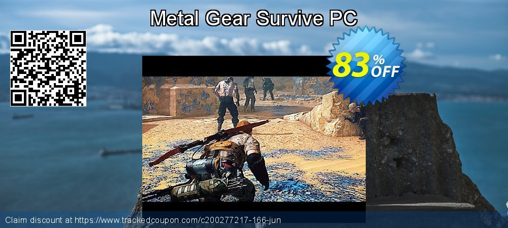 Metal Gear Survive PC coupon on Mom Day promotions