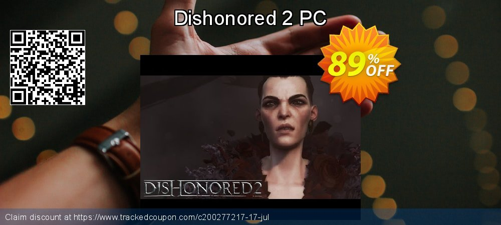 Dishonored 2 PC coupon on Mothers Day discount