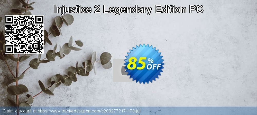 Injustice 2 Legendary Edition PC coupon on Mom Day discount