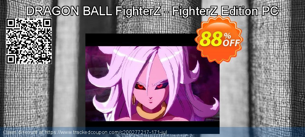 DRAGON BALL FighterZ - FighterZ Edition PC coupon on Mothers Day offering discount