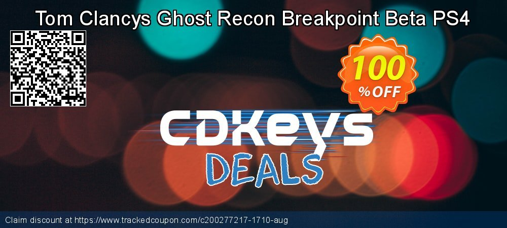 Get 95% OFF Tom Clancys Ghost Recon Breakpoint Beta PS4 offering discount