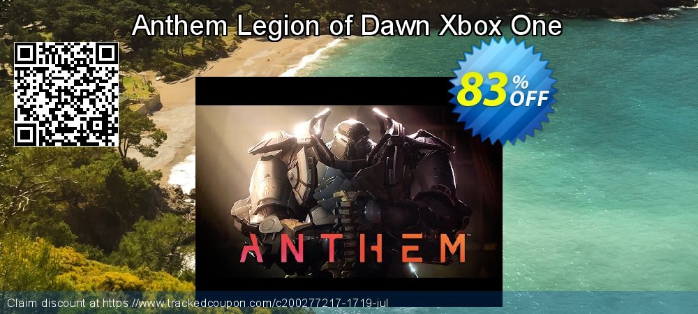 Get 89% OFF Anthem Legion of Dawn Xbox One offering sales