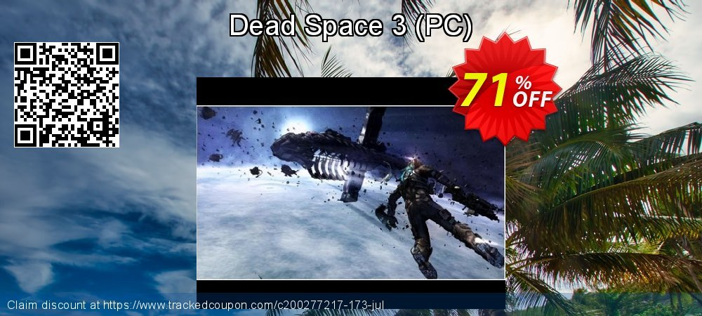 Get 58% OFF Dead Space 3 (PC) discount