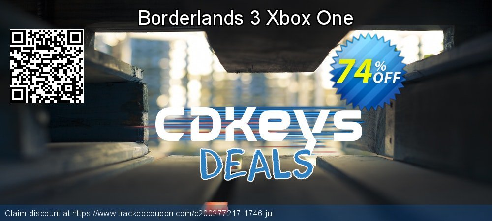 Borderlands 3 Xbox One coupon on Summer offering sales
