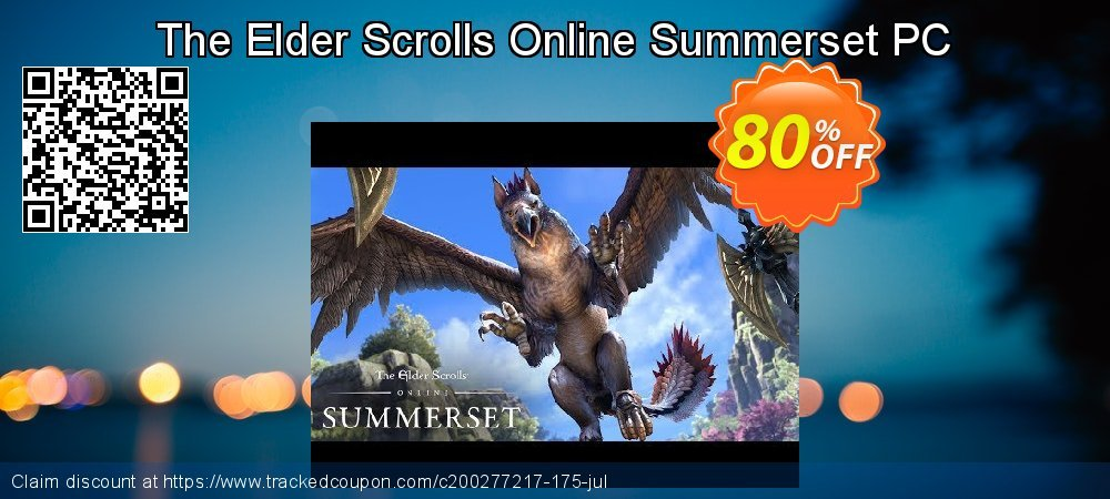 The Elder Scrolls Online Summerset PC coupon on Mothers Day promotions