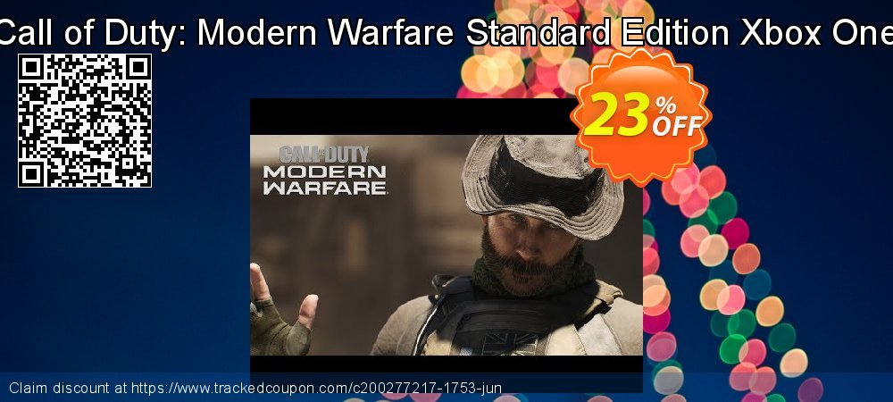 Call of Duty: Modern Warfare Standard Edition Xbox One coupon on World Population Day offering discount