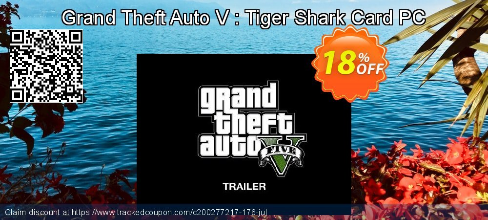 Grand Theft Auto V : Tiger Shark Card PC coupon on Mom Day sales