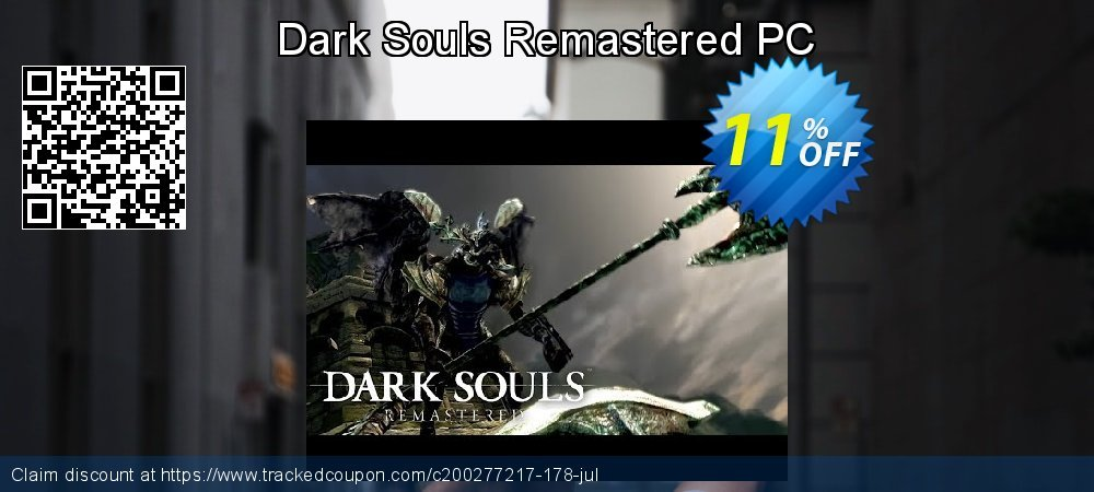 Dark Souls Remastered PC coupon on Mom Day offer