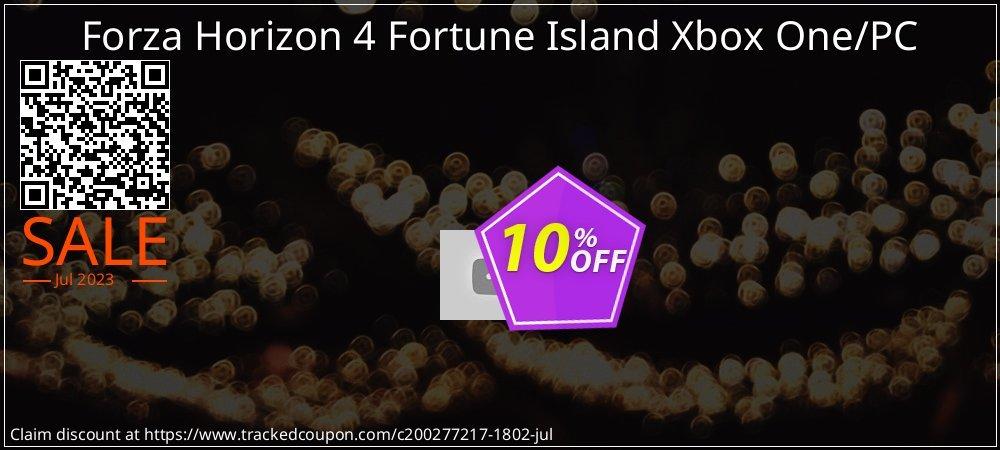 Forza Horizon 4 Fortune Island Xbox One/PC coupon on World Milk Day discounts