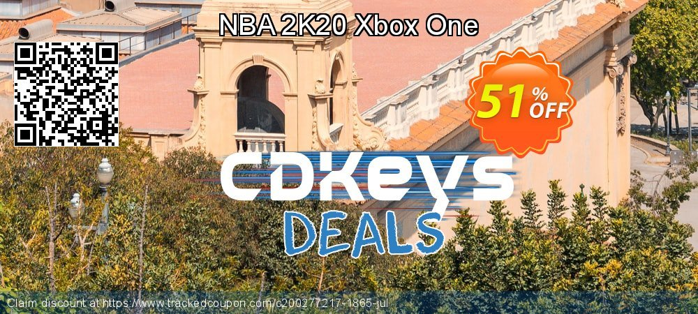 NBA 2K20 Xbox One coupon on National Cheese Day discounts