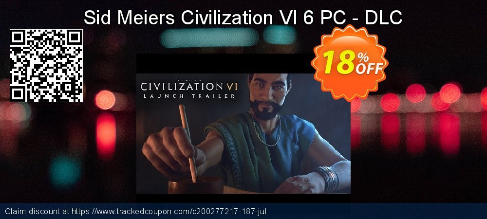 Sid Meiers Civilization VI 6 PC - DLC coupon on Mothers Day offer