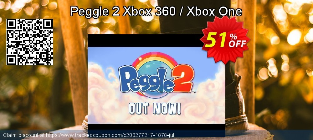 Get 60% OFF Peggle 2 Xbox 360 / Xbox One discount