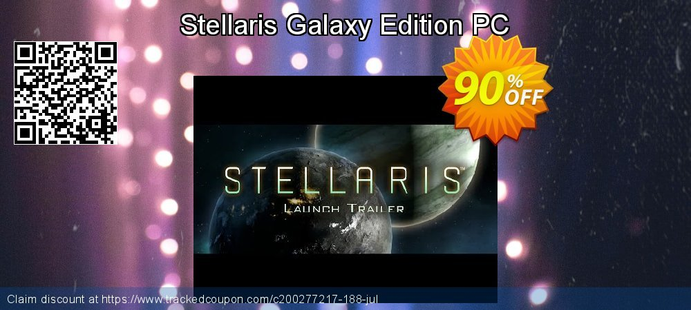 Stellaris Galaxy Edition PC coupon on Mom Day discount