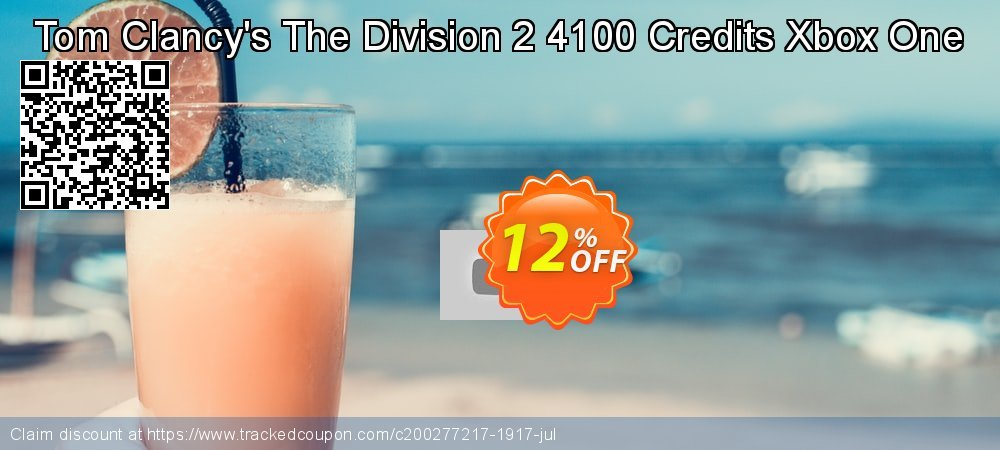 Get 10% OFF Tom Clancy's The Division 2 4100 Credits Xbox One offer