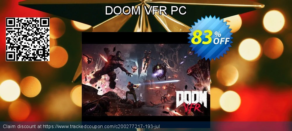 DOOM VFR PC coupon on Mothers Day promotions