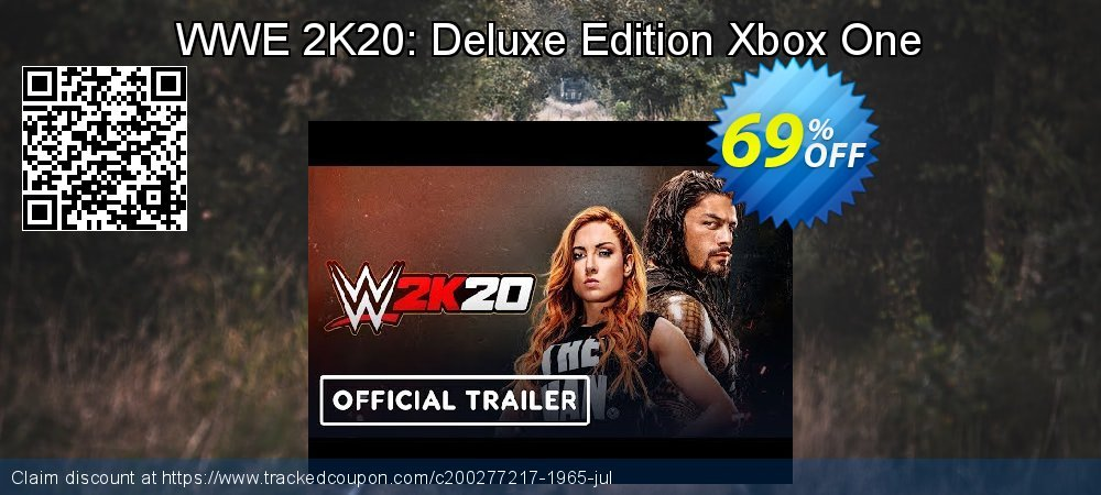 WWE 2K20: Deluxe Edition Xbox One coupon on Hug Holiday promotions