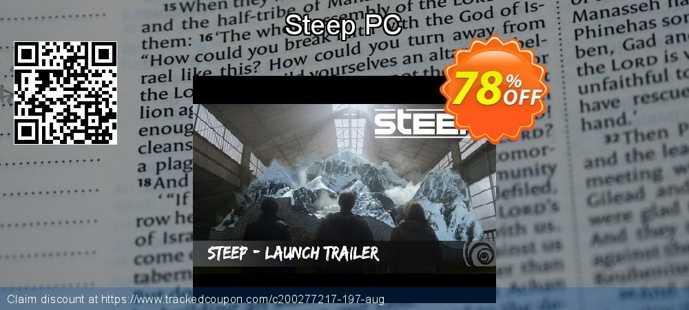 Steep PC coupon on Mothers Day discount