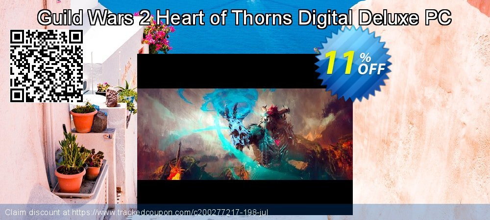 Guild Wars 2 Heart of Thorns Digital Deluxe PC coupon on Mom Day offering discount