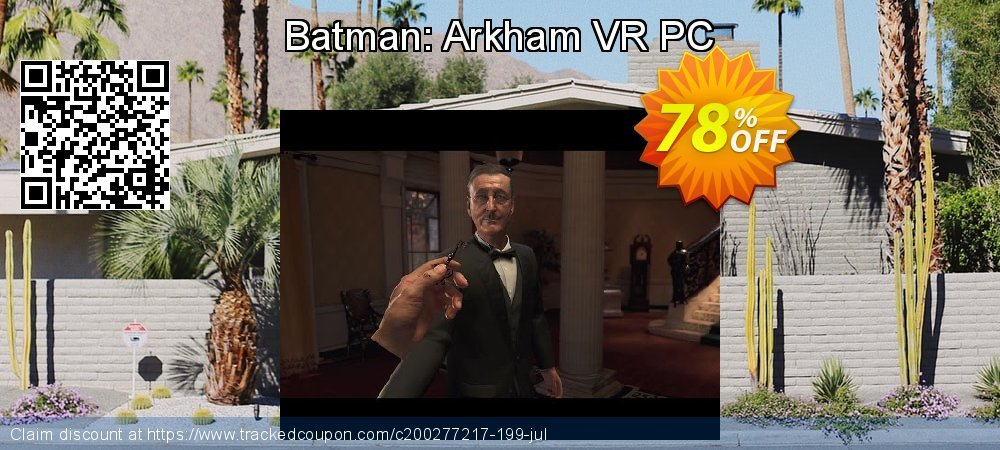 Batman: Arkham VR PC coupon on Mothers Day offering sales