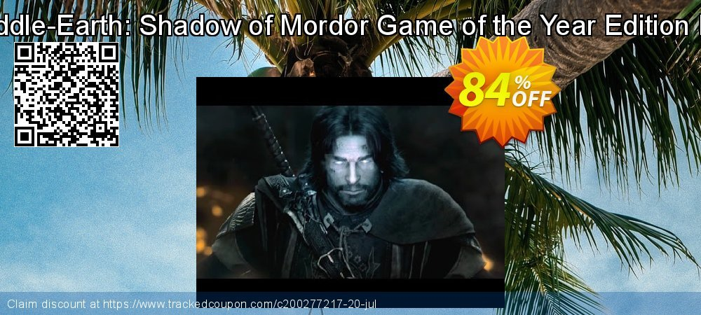 Middle-Earth: Shadow of Mordor Game of the Year Edition PC coupon on Mom Day super sale