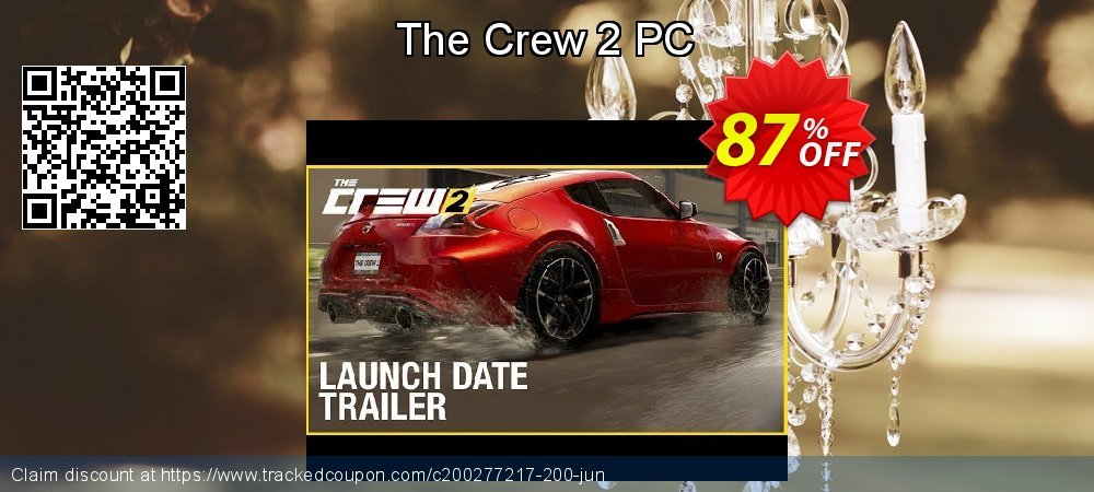 The Crew 2 PC coupon on Mom Day super sale