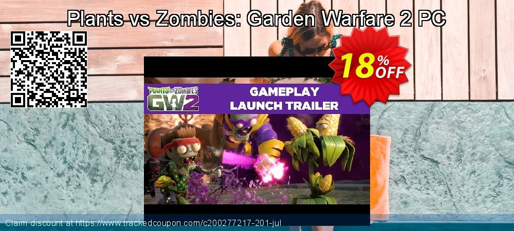 Plants vs Zombies: Garden Warfare 2 PC coupon on Mothers Day discounts