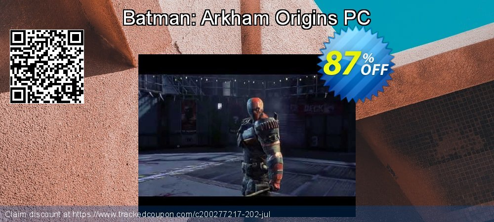 Batman: Arkham Origins PC coupon on Mom Day promotions