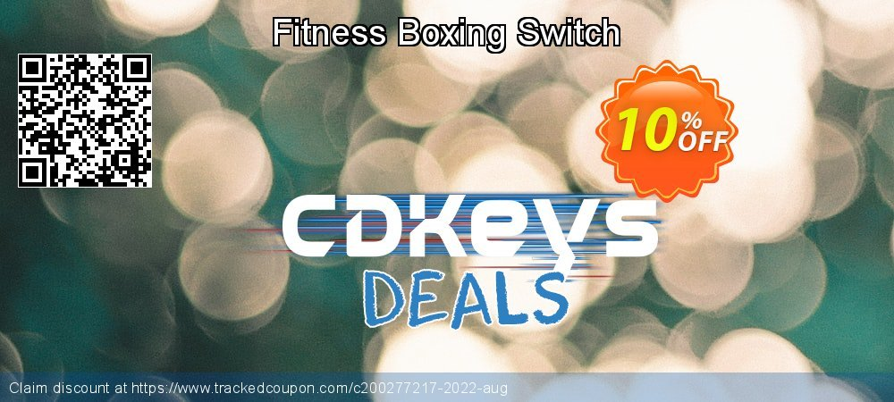 Get 10% OFF Fitness Boxing Switch offering sales