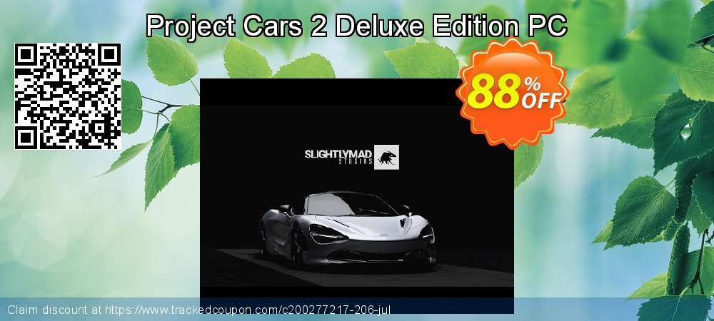 Project Cars 2 Deluxe Edition PC coupon on Mom Day discount