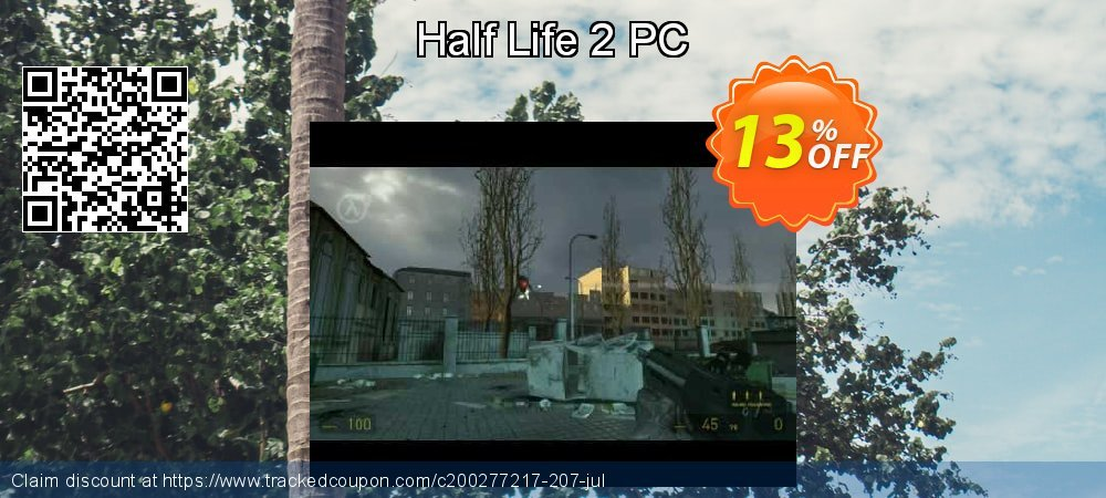 Half Life 2 PC coupon on Mothers Day offering discount