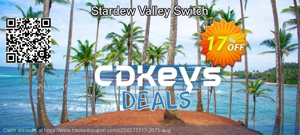 Stardew Valley Switch coupon on National Cheese Day promotions