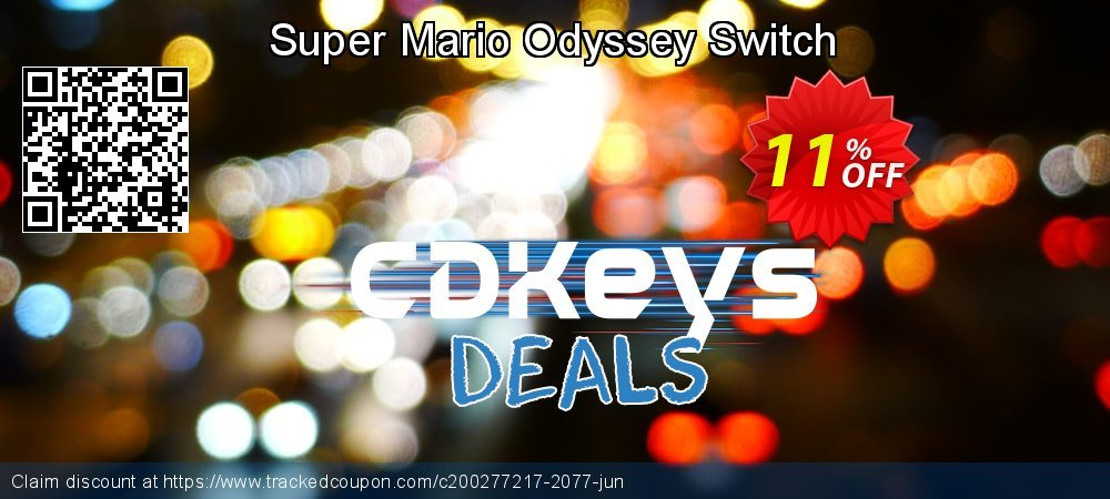 Super Mario Odyssey Switch coupon on World Bicycle Day discount
