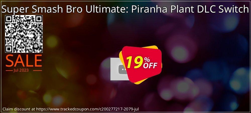 Get 16% OFF Super Smash Bro Ultimate: Piranha Plant DLC Switch offering sales