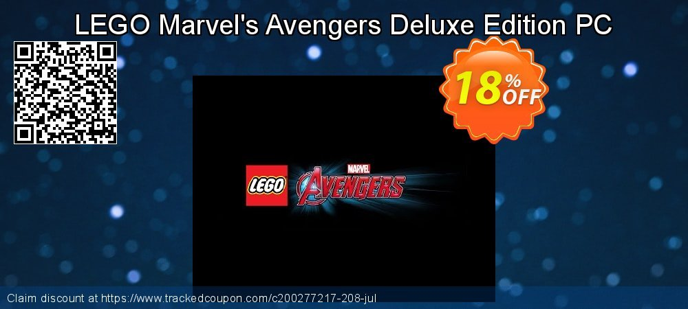 LEGO Marvel's Avengers Deluxe Edition PC coupon on Mom Day offering sales