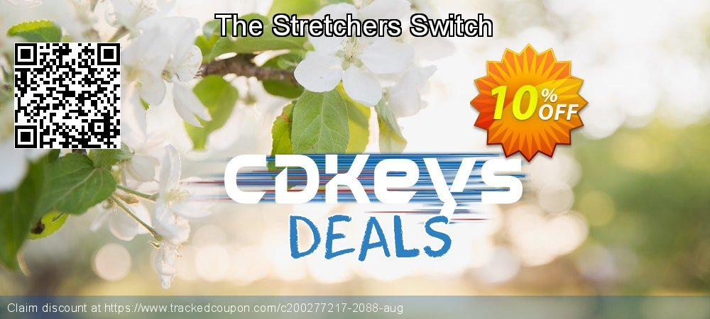 The Stretchers Switch coupon on New Year sales