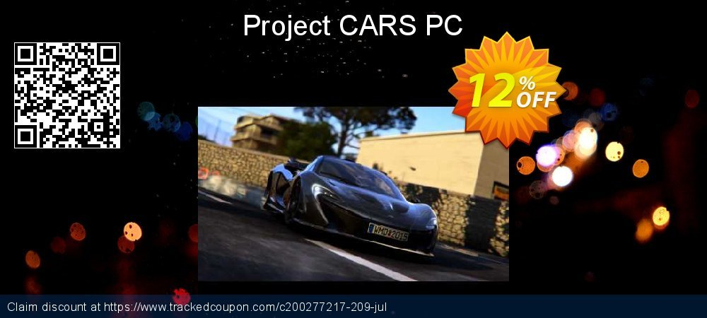 Project CARS PC coupon on Mothers Day super sale