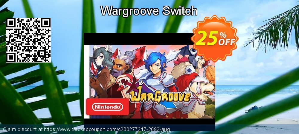 Wargroove Switch coupon on World Oceans Day sales