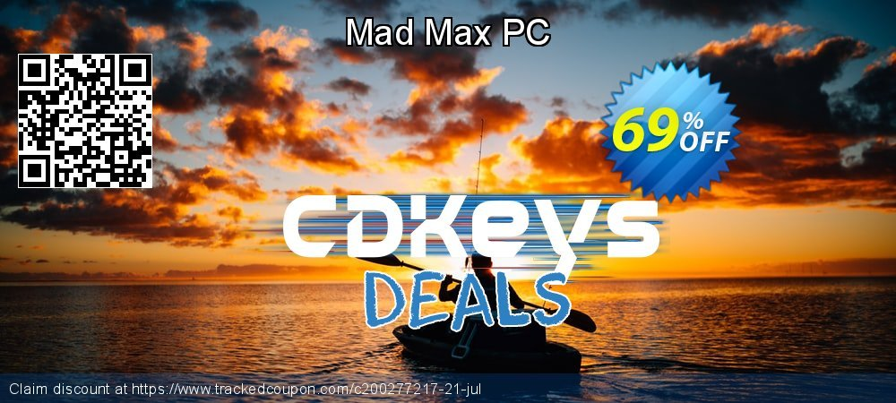 Mad Max PC coupon on World Teachers' Day discount