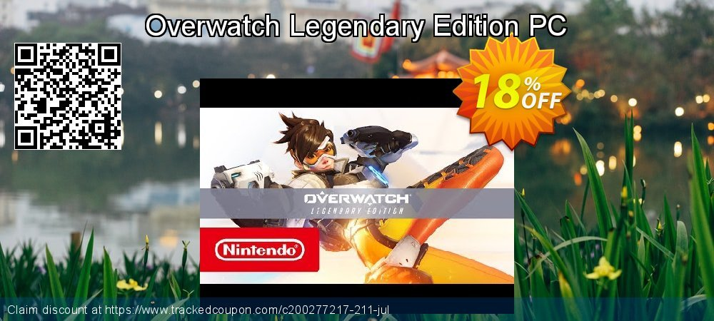 Overwatch Legendary Edition PC coupon on Mothers Day promotions